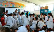 Presentación en Escuela Nº 263 de Casavalle