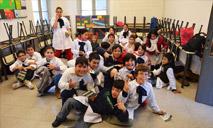 Presentación en Escuela Nº 2 de Durazno