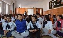 Presentación en Escuela Nº 1 de Durazno
