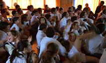 Presentación en Escuela Nº 126 de Nueva Helvecia