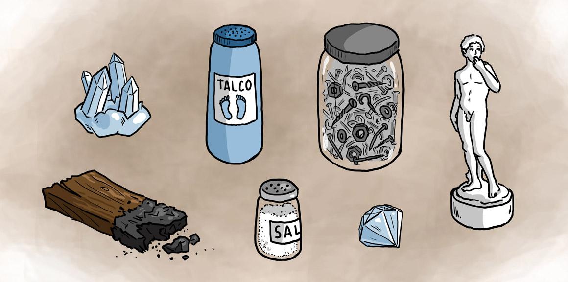 Los minerales contenidos educativos digitales for Marmol caracteristicas y usos